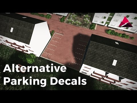 Cities: Skylines - Workshop - Alternative Parking Decals