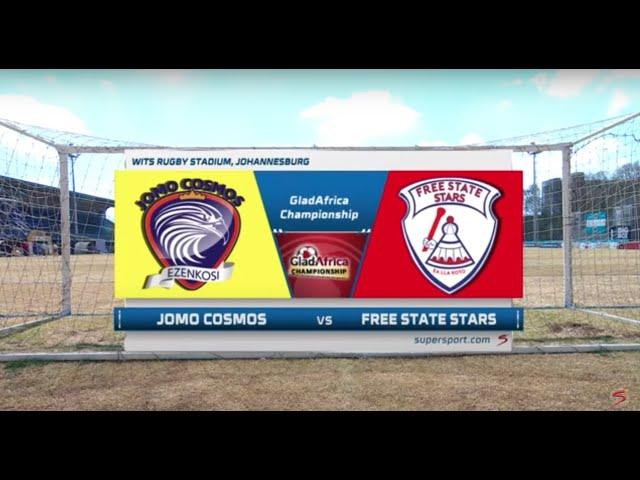 GladAfrica Championship | Jomo Cosmos v Free State Stars | Highlights