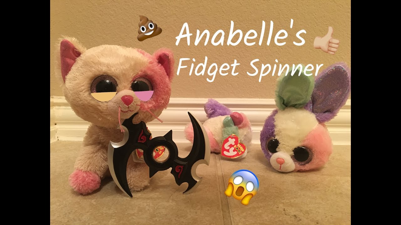 Beanie Boo s  Anabelle s Fidget Spinner! - YouTube ea678829d6c