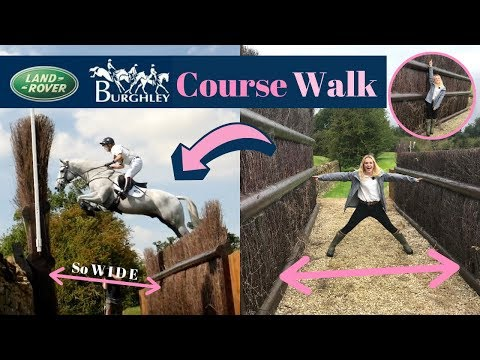 Course Walk Land Rover Burghley Horse Trials | AD | This Esme
