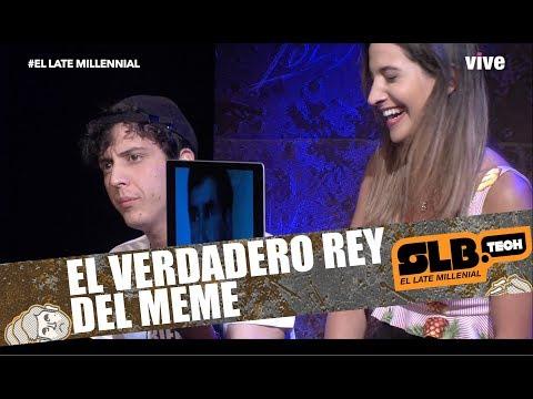 SLBtech LaOposición Dani Palavecino conoce al rey de los memes