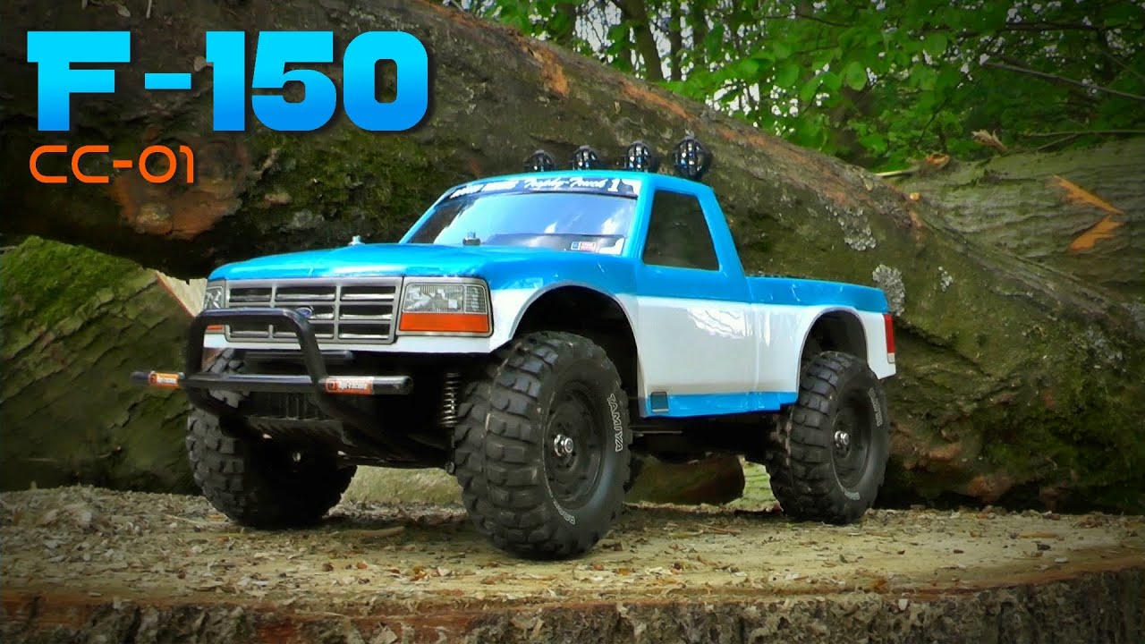 custom tamiya ford f 150 cc 01 in the forest rc. Black Bedroom Furniture Sets. Home Design Ideas