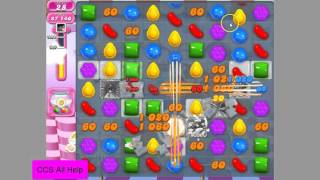 Candy Crush Saga Level 1324 NO BOOSTERS
