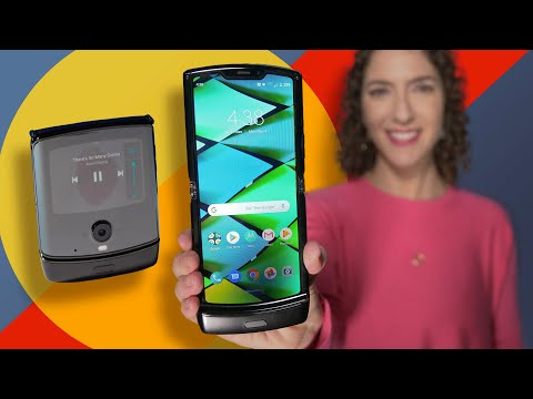 Motorola Razr first look: A foldable and flip phone in one - YouTube