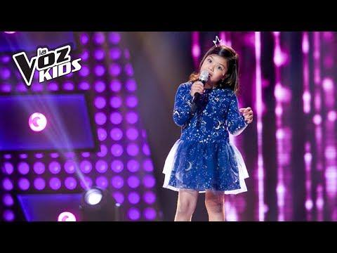 Alana canta ¿Y Si Hacemos un Muñeco? - Audiciones a ciegas | La Voz Kids Colombia 2018