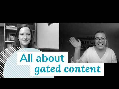 What Is Gated Content?   Monday Marketing Minute by Oneupweb