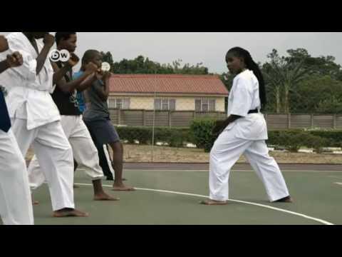 Sharleen Amonda is Zimbabwe's Highest Ranked Female Karateka