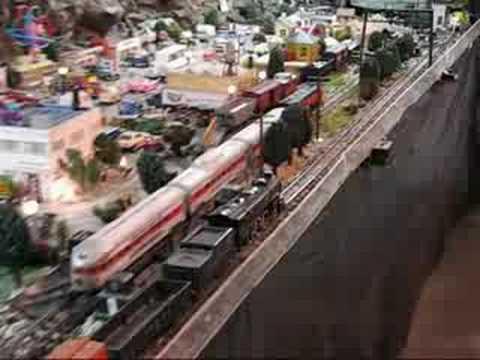 Joe runs some American Flyer trains