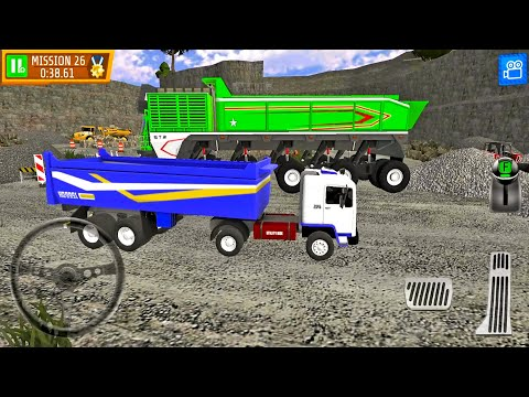 Quarry Driver 3 Giant Trucks Ep6 - Truck Games Android Gameplay