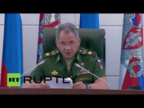 "Russia: Southern defences strengthened due to ""growing military presence of NATO"" - Shoigu"
