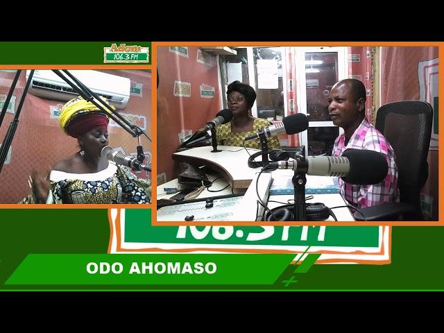 ODO AHOMASO WITH AKUMAA MAMA ZIMBI on Adom FM (28-7-18)