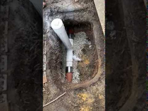 Sewer Line Clean Out FINISHED - Residential Plumbing - Wilmette Illinois - Rescue Plumbing