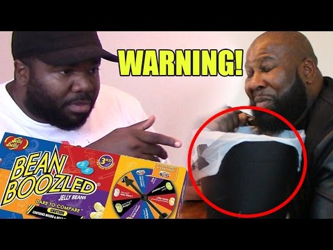 BLACK PEOPLE TRY THE BEAN BOOZLED CHALLENGE FOR THE FIRST TIME 😩😂 #NemRaps