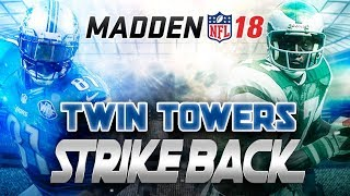 THE TWIN TOWERS STRIKE BACK! Madden 18 Ultimate Team Gameplay