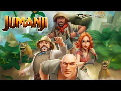 ДЖУМАНДЖИ Jumanji: Epic Run Обзор на игру 1 часть