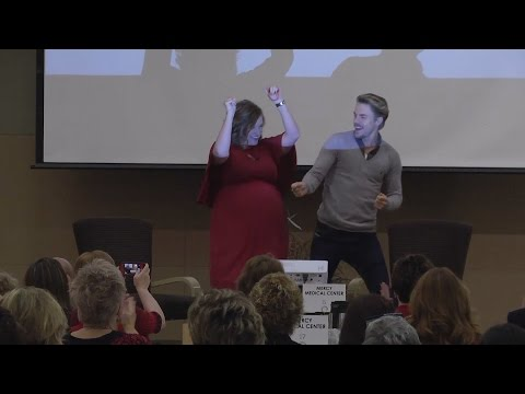 Derek Hough Dances His Way to Dubuque - YouTube
