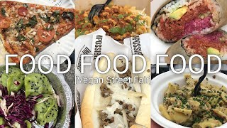 FOOD FOOD FOOD || Vegan Street Fair