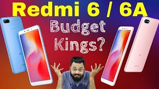 Redmi 6 & Redmi 6A - Review of Specifications & My Frank Opinion