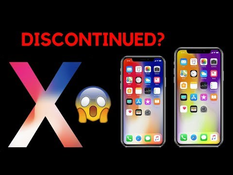 iPhone X DISCONTINUED?