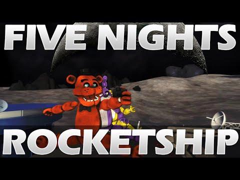 [FNAF SFM] Rocket Ship Song - Five Nights at Freddy's Animation