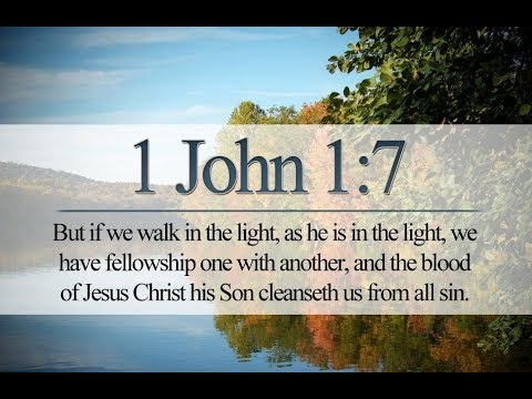 How does the blood of Jesus cleanse us from our sin? (1 John 1:7-10) -  YouTube