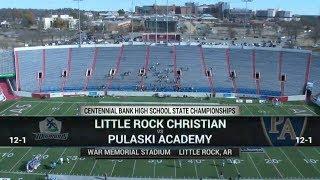 2018 5A Little Rock Christian Academy vs. Pulaski Academy