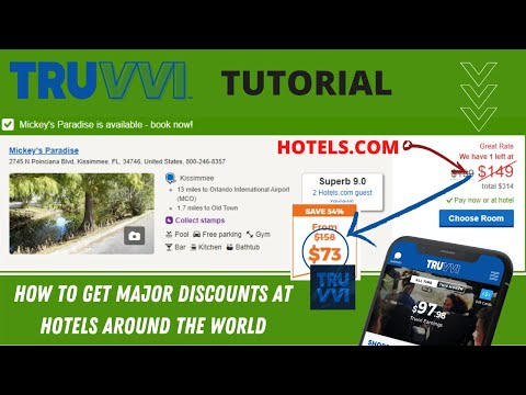 HOW TO GET MAJOR DISCOUNTS AT HOTELS AROUND THE WORLD     Truvvi Vs Hotels.com  Stay Comparison