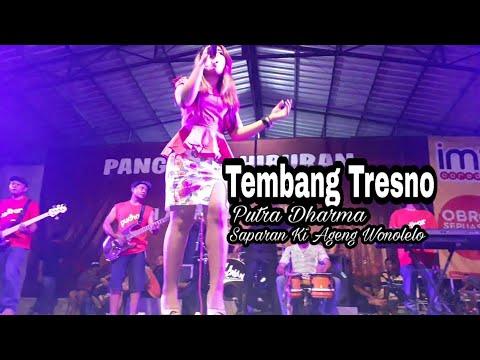 TEMBANG TRESNO -Putra Dharma (full HD at pondok wonolelo)
