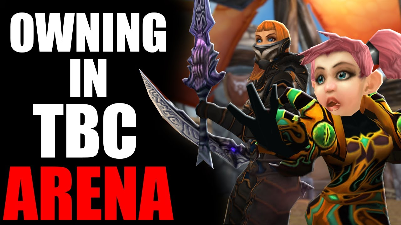 Warlock / Rogue - TBC Arena DOMINATION