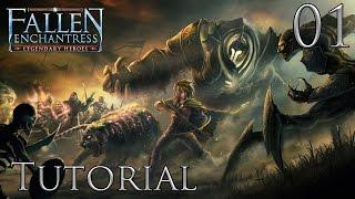 Let's Play Fallen Enchantress: Legendary Heroes Part 1 Tutorial