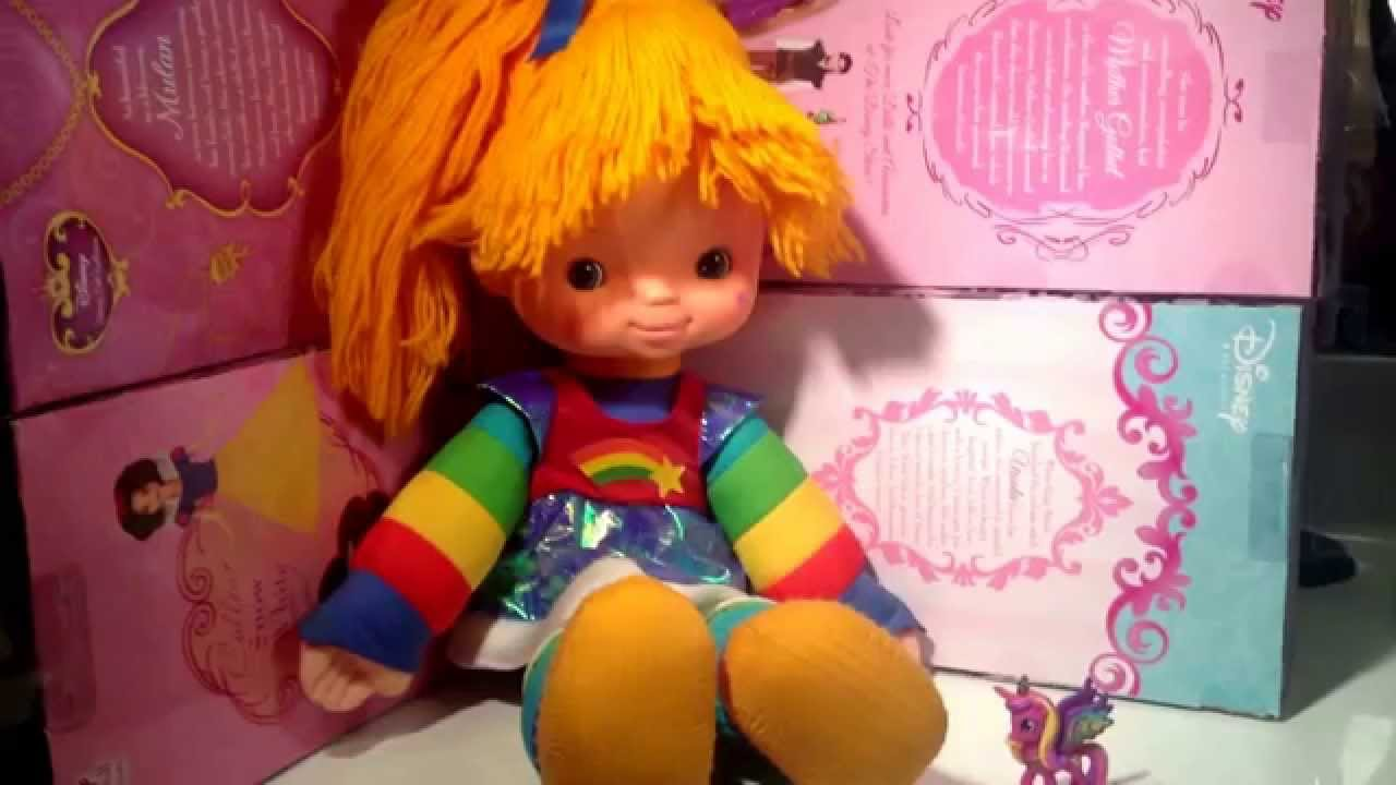 1983 Rainbow Brite Doll By Mattel Review Youtube