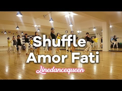 Shuffle Amor Fati Line Dance (아모르파티)(Phrased High Beginner) Yong Nam Jeon Demo & Count