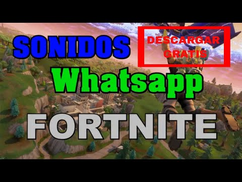 10 Best Notification Tones for WHATSAPP of FORTNITE 2018 // Free Download