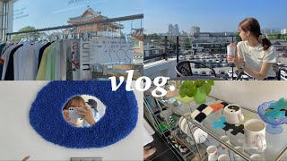 vlog | 여름이 왔네요☀️| 행궁동 카페. 소품샵 …
