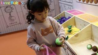 라임이의 과일 야채 생선 마트 장보기 키즈카페 장난감 놀이 LimeTube & Toy 라임튜브