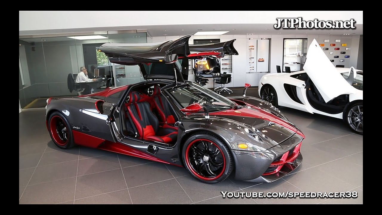 First Pagani Huayra delivered in Greenwich - YouTube