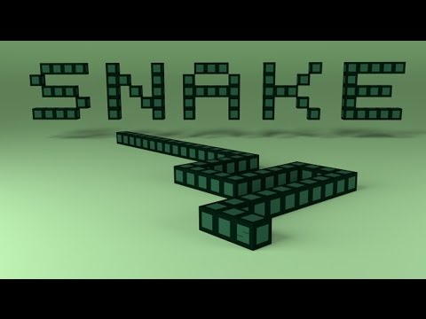 Create Your Own Snake Game | CMD | Command Prompt | Game