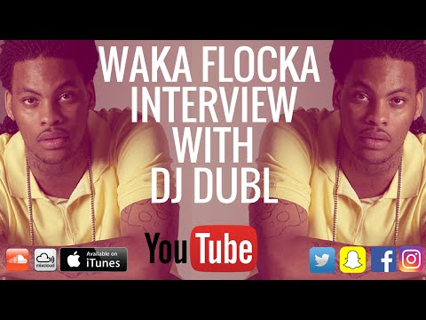 Waka Flocka Interview - Overdosing on weed, Flockaveli 2 delay & why you don't mention Gucci Mane