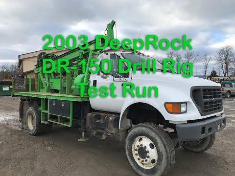 2003 DeepRock DR-150 Drill Rig