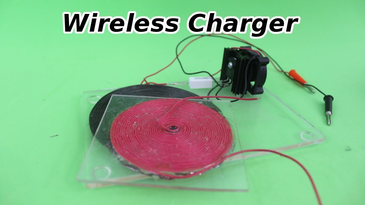 DIY Wireless Charger Prototype