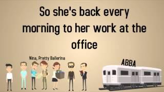 ABBA - Nina, Pretty Ballerina - Lyrics