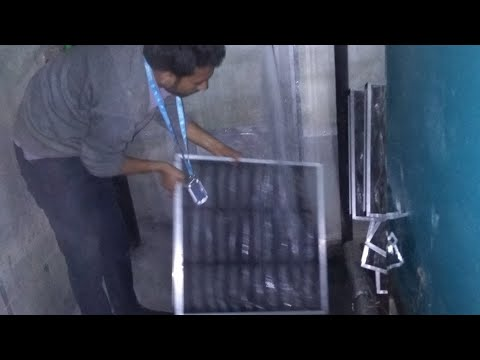 How to clean AHU filters