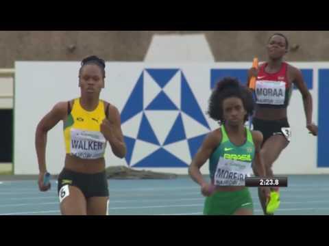 IAAF World Under 18 Mixed Relay 4x400 Final .Nairobi Kenya
