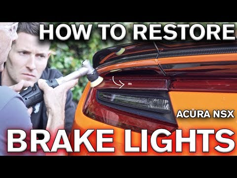 Restoring Your Taillights to Look New Is Surprisingly Easy