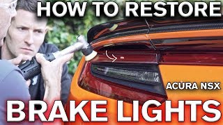 How to Restore Scratched Tail Light Lens