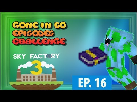 Minecraft- Skyfactory 3- Gone in 60 Episodes Challenge: Smashing Compressed Cobble & Power Soon!!