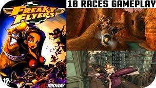 Freaky Flyers 10 Races Gameplay - Gamecube HD