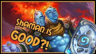Can elemental Shaman really be this good?!   Rastakhan's Rumble   Hearthstone