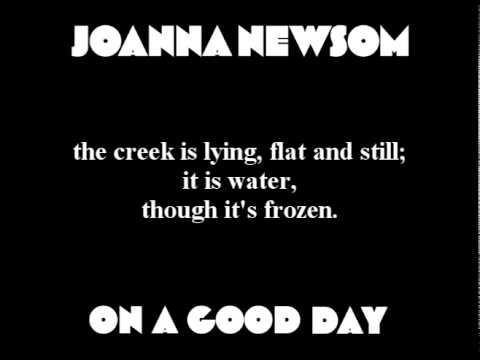 Joanna Newsom - On a Good Day (with lyrics)