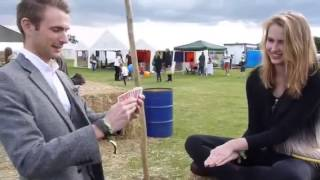Card Magic at the Homegrown festival
